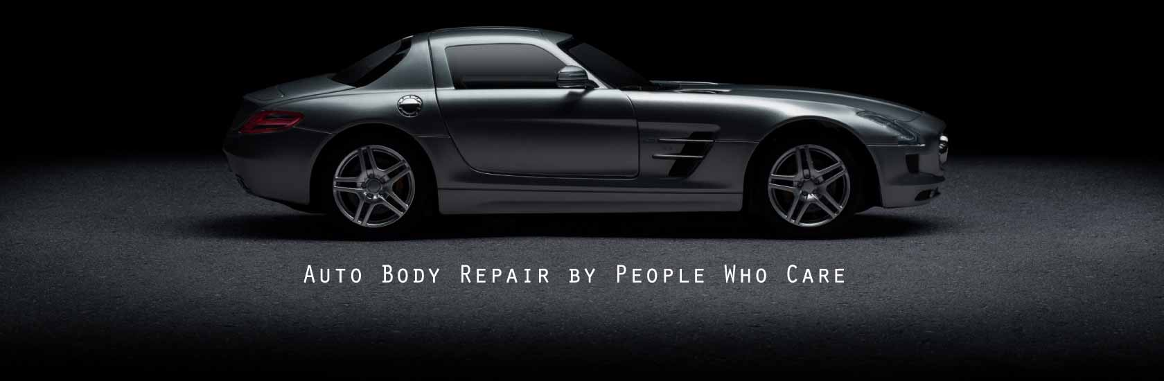 High end car - Auto Body Repair by People Who Care